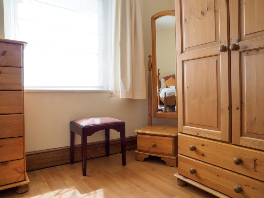 Double room wardrobe and dressing table.